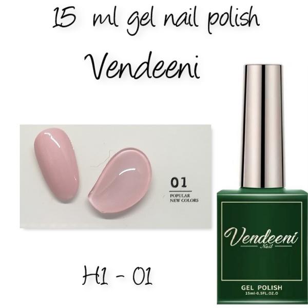 15 ml vendeeni uv led gel nail polish h1-01 picture