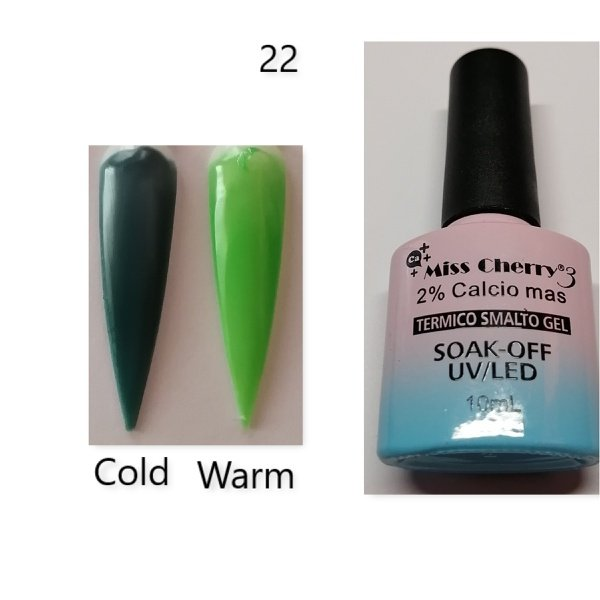 Miss cherry 10 ml color uv/led changing gel n22 picture