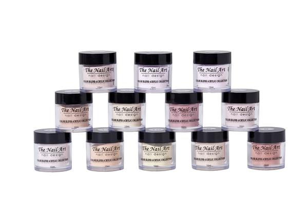 12 colors 10g powder nude set picture