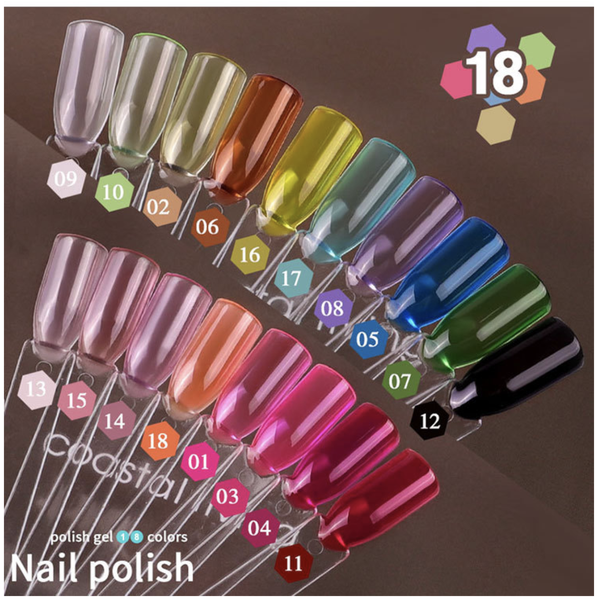 Misscheering 8 ml glaze gel polish - 017 picture