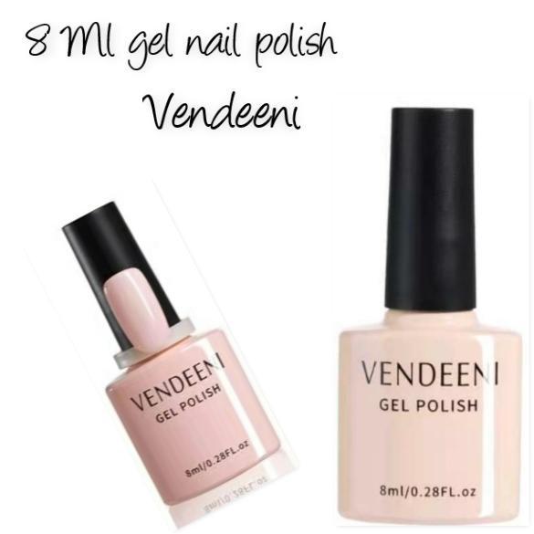 8 ml vendeeni uv/led gel nail polish no 8 picture