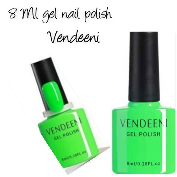 8 ml vendeeni uv/led gel nail polish no 2 picture