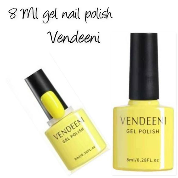 8 ml vendeeni uv/led gel nail polish no 12 picture