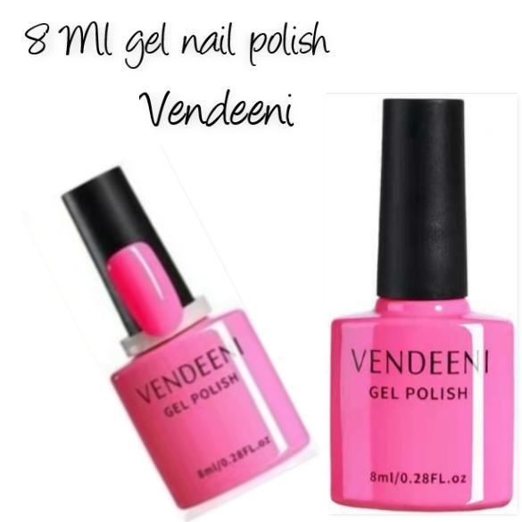 8 ml vendeeni uv/led gel nail polish no 4 picture