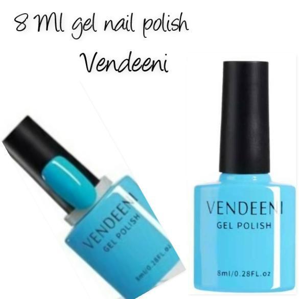 8 ml vendeeni uv/led gel nail polish no 6 picture