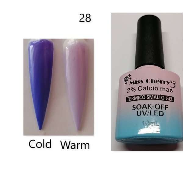 Miss cherry 10 ml color uv/led changing gel n28 picture