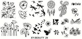 Stamping plate xy-beauty n0 29 picture