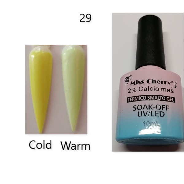 Miss cherry 10 ml color uv/led changing gel n29 picture