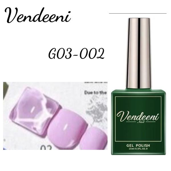15 ml vendeeni uv led gel nail polish g-03-no2 picture