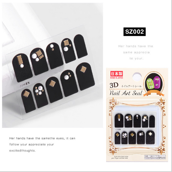 3d nail charms sz002 picture