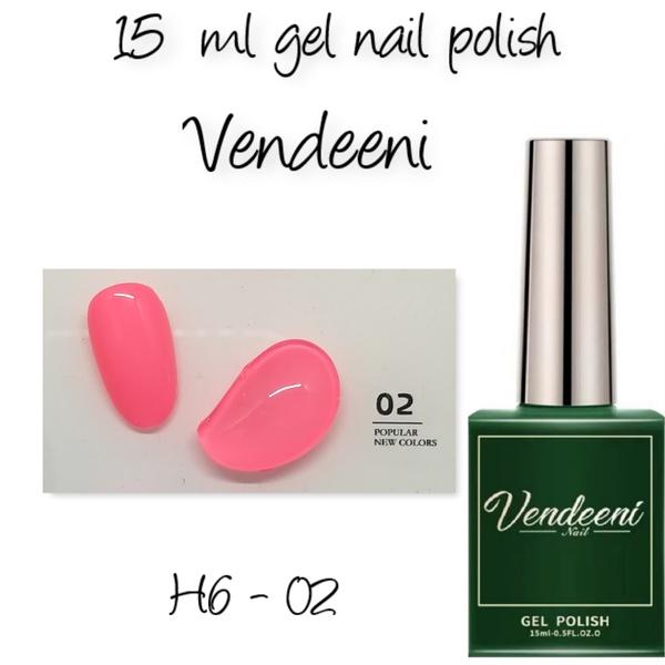 15 ml vendeeni uv led gel nail polish h6-02 picture