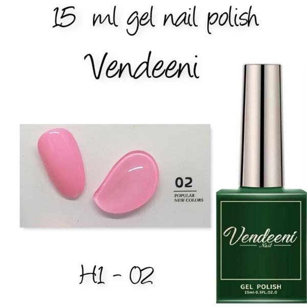 15 ml vendeeni uv led gel nail polish h1-02 picture