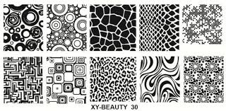 Stamping plate xy-beauty n0 30 picture