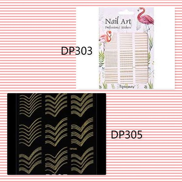 Nail art stickers - dp picture
