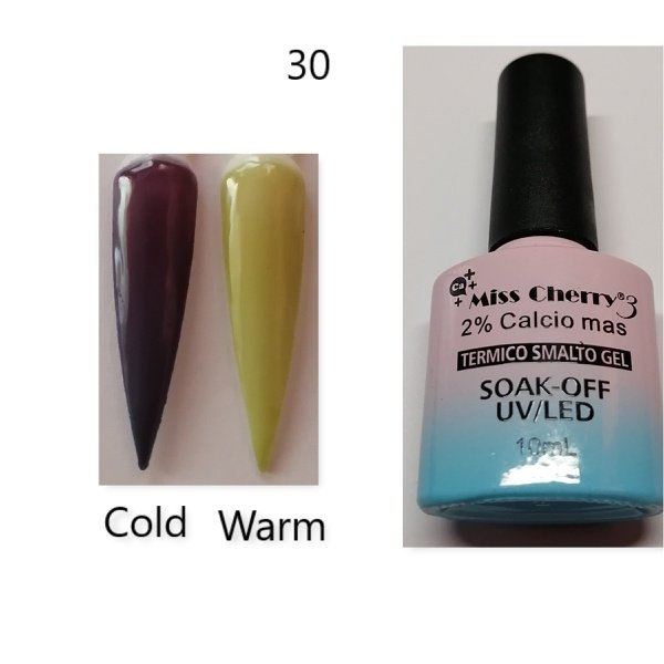 Miss cherry 10 ml color uv/led changing gel n30 picture