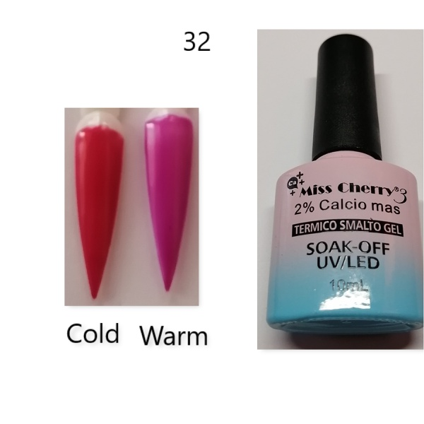 Miss cherry 10 ml color uv/led changing gel n32 picture