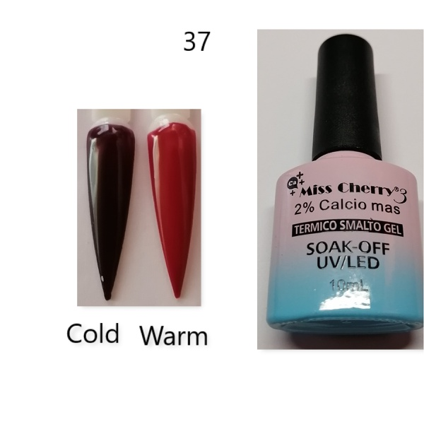 Miss cherry 10 ml color uv/led changing gel n37 picture