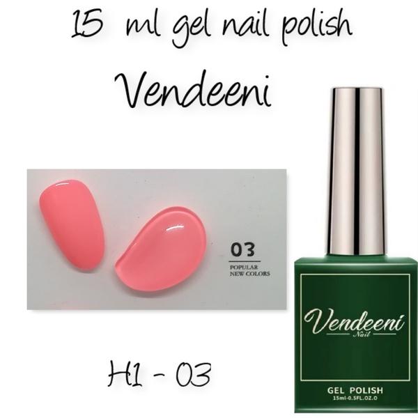 15 ml vendeeni uv led gel nail polish h1-03 picture