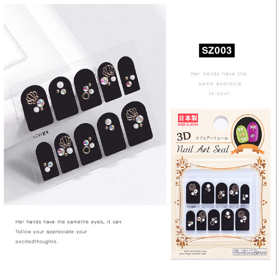 3d nail charms sz003 picture