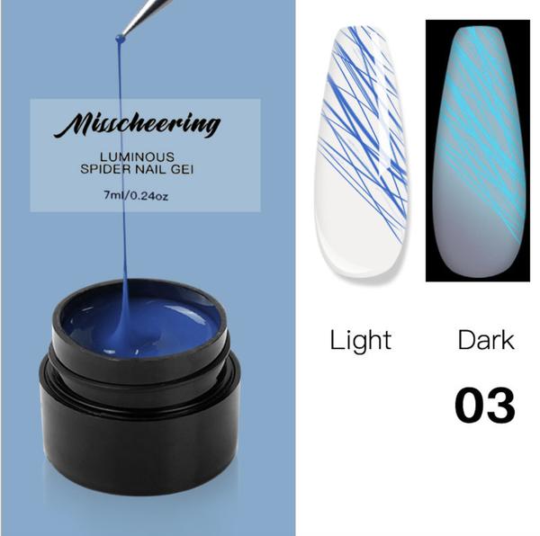 Luminous spider gel 7ml no 3 picture