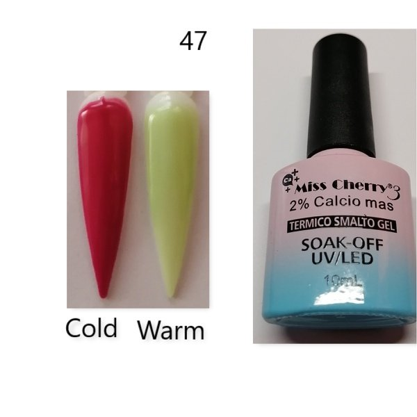 Miss cherry 10 ml color uv/led changing gel n47 picture