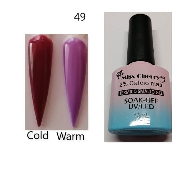 Miss cherry 10 ml color uv/led changing gel n49 picture