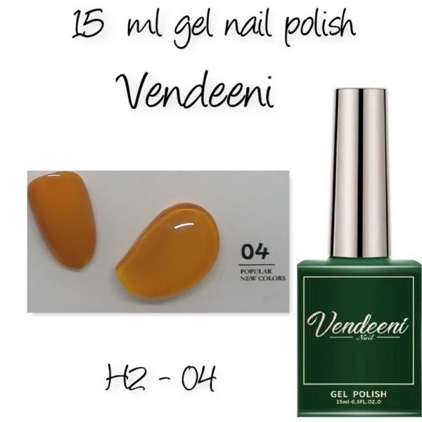 15 ml vendeeni uv led gel nail polish h2-04 picture