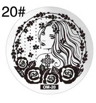 Round stamping plates om20 picture