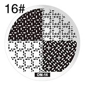 Round stamping plates om16 picture