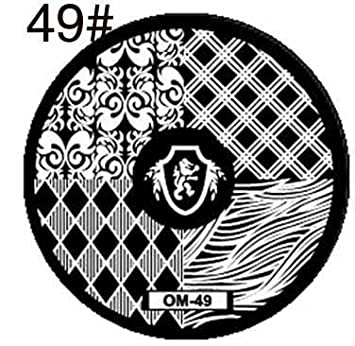 Round stamping plates om49 picture