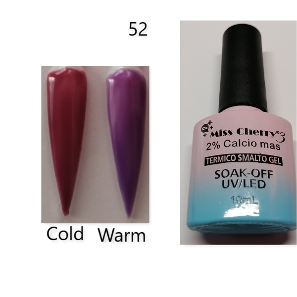 Miss cherry 10 ml color uv/led changing gel n52 picture