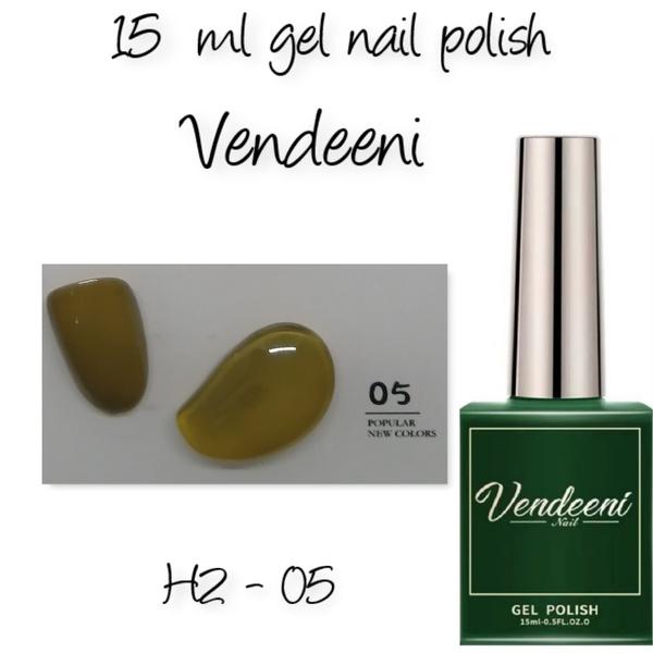 15 ml vendeeni uv led gel nail polish h2-05 picture