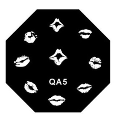 Stamping image plate qa05 picture