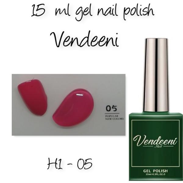 15 ml vendeeni uv led gel nail polish h1-05 picture