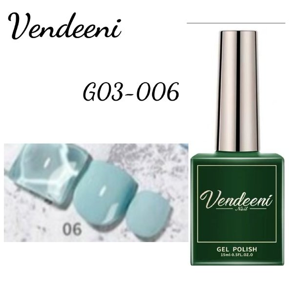 15 ml vendeeni uv led gel nail polish g-03-no6 picture