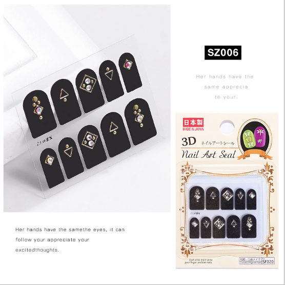 3d nail charms sz006 picture