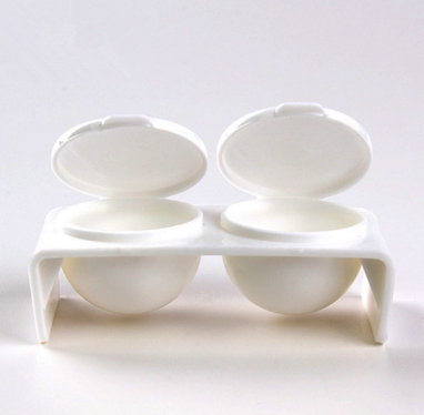 Double dish white picture