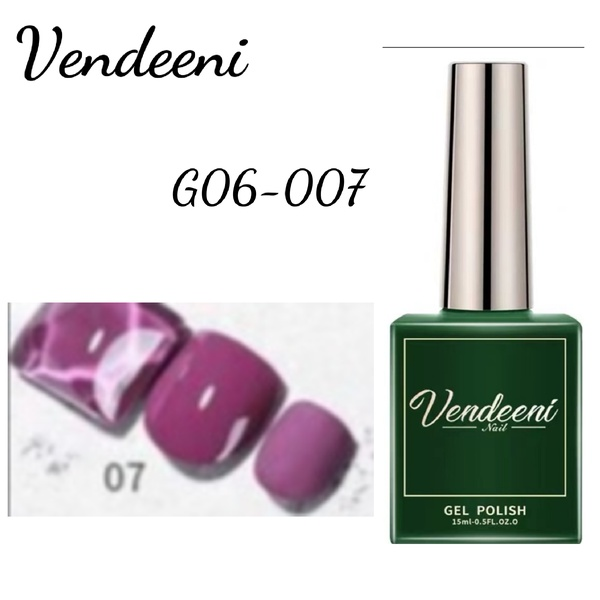 15 ml vendeeni uv led gel nail polish g-06-no 7 picture