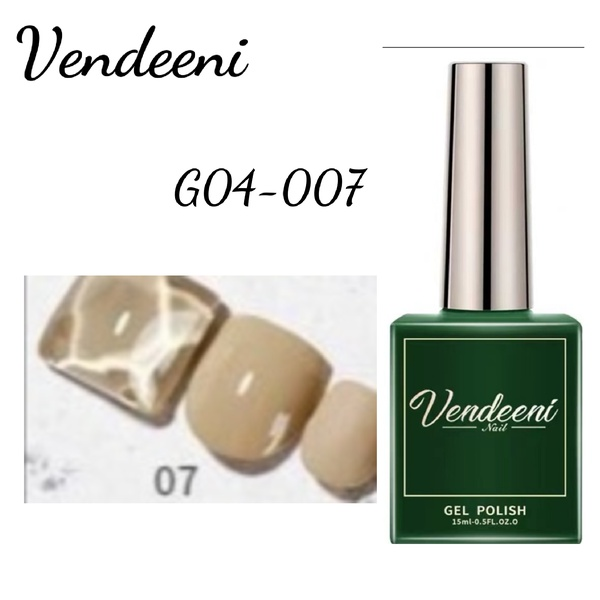 15 ml vendeeni uv led gel nail polish g-04-no 7 picture