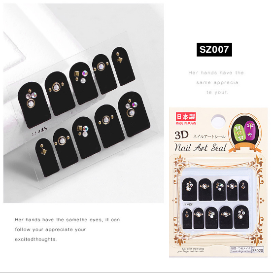 3d nail charms sz007 picture