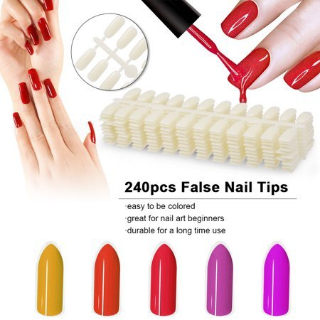 24# display board false nails swatches (5pcs) picture