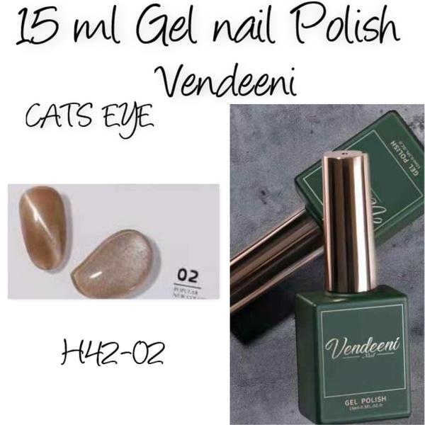 15 ml vendeeni uv/led gel nail polish cats eye   h42-02 picture