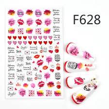 Nail sticker - f628 picture