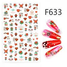 Nail sticker - f633 picture