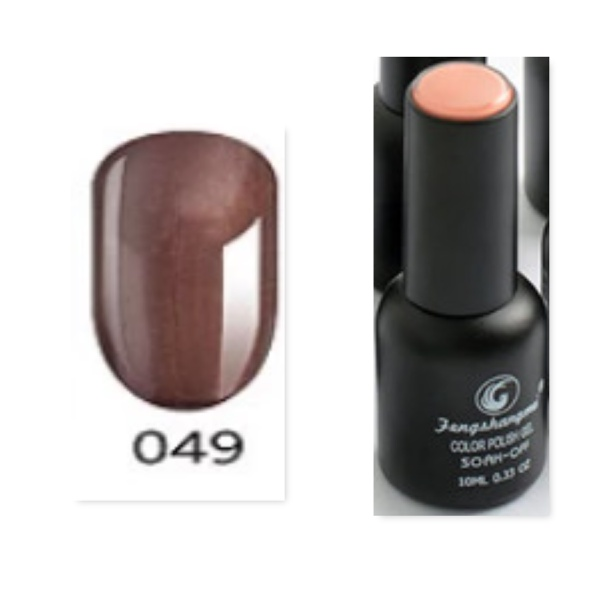 Fengshangmei 10 ml one step gel polish non wipe - no 049 picture
