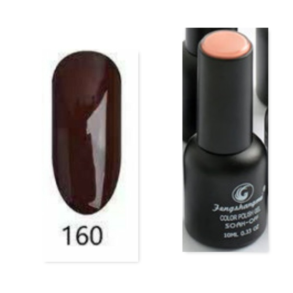 Fengshangmei 10 ml one step gel polish non wipe - no 160 picture