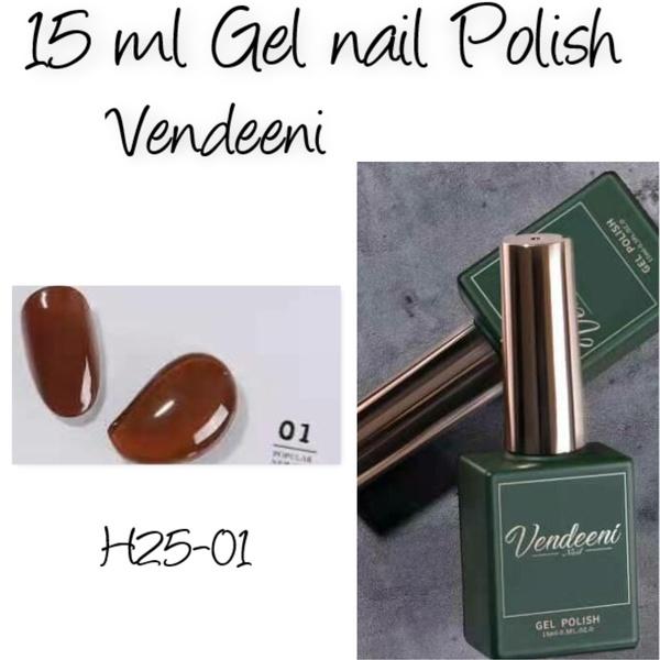 15 ml vendeeni uv/led gel nail polish  h25-01 picture