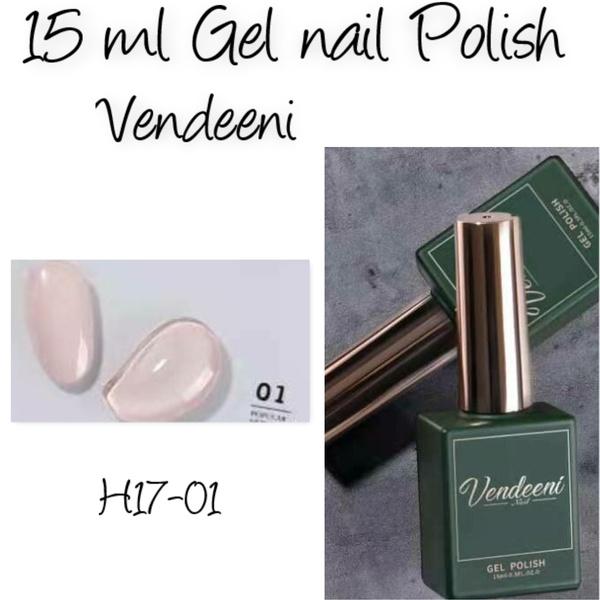 15 ml vendeeni uv/led gel polish - h17-01 picture