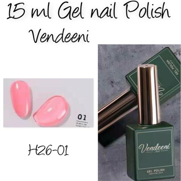 15 ml vendeeni uv/led gel nail polish  h26-01 picture