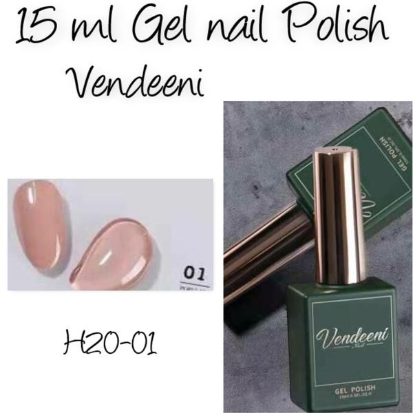 15 ml vendeeni uv/led gel nail polish  h20-01 picture